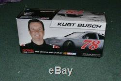 2013 Kurt Busch 78 Furniture Row Racing Wonder Bread Chevy SS 1/24 scale diecast