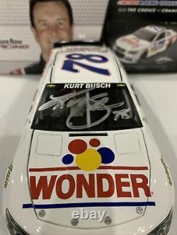 2013 Kurt Busch #78 wonder Bread Talladega Nights tribute autographed