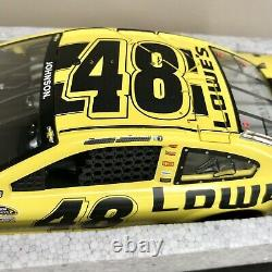 2013 RCCA ELITE Daytona 500 Winner Jimmie Johnson Lowes 124 Action Diecast Mint