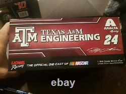 2014 #24 Jeff Gordon Axalta/Texas A&M 1/24 Action Diecast CWC #906 of 2089