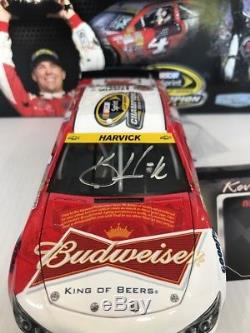 2014 #4 Kevin Harvick Budweiser Champion Autographed