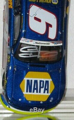 2014 Chase Elliott #9 Napa American Salute Autographed 1/24 Car#88/1693 Awesome