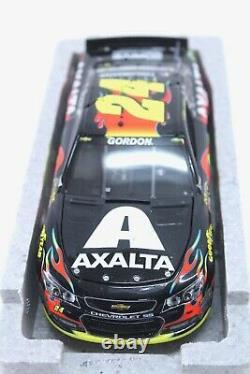 2014 JEFF GORDON #24 Axalta Indy Win Raced 124 diecast car chevrolet SS Elite