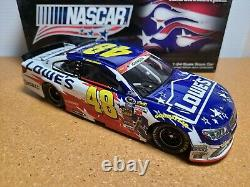 2014 Jimmie Johnson #48 Lowe's NASCAR Salutes HMS Chevy 124 NASCAR Action MIB