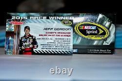 2015 Jeff Gordon 24 AARP Martinsville Win RV 1/24