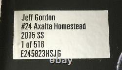 2015 Jeff Gordon PROMO Homestead Track EXCLUSIVE Version Last Final Ride car