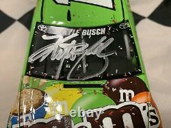 2015 Kyle Busch Autographed #18 M&Ms Crispy Sonoma Raced Win 1/24