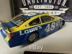 2016 Jimmie Johnson #48 Autographed Lowe's Darlington Throwback 1/24th Diecast