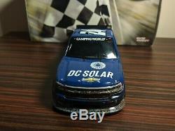 2016 Kyle Larson #24 DC Solar Eldora Raced Win 124 Scale NASCAR Diecast Truck