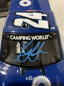 2016 Kyle Larson #24 DC Solar Eldora Raced Win NASCAR Diecast Truck Autographed