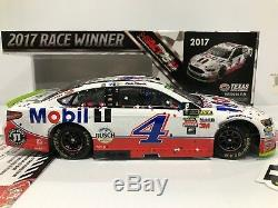 2017 #4 Kevin Harvick Mobil 1 Texas Raced Win AUTOGRAPHED