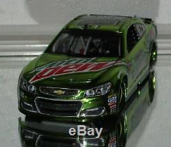 2017 Dale Earnhardt Jr #88 Mt Dew Talladega Raced Version Color Chrome Car#125