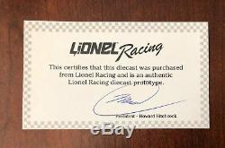 2017 Jimmie Johnson Lowes Texas Race Win PROTOTYPE diecast car proto