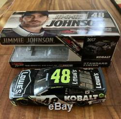 2017 Ss 1/24 Jimmie Johnson #48 Lowes Kobalt Tools 372 Of 493 Nascar Racing