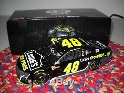 2018 Jimmie Johnson 1/24 Lowes For Pros Elite-Made 548-Camaro-FREE SHIPPING