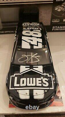 2018 Jimmie Johnson #48 Autographed Lowe's Darlington Throwback 1/24th Diecast