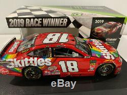 2019 #18 Kyle Busch Skittles Bristol Raced Win