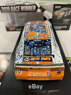 2019 #9 NAPA Little Caesars Talladega Raced Win Chase Elliott AUTOGRAPHED