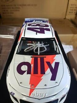 2019 Jimmie Johnson #48 Autographed Ally Darlington Throwback Camaro 1/24TH