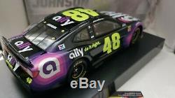 2019 Jimmie Johnson #48 Autographed Ally Financial 1/24th Scale Nascar Diecast