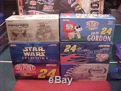 #24 Jeff Gordon 1/24 C. W. Action Car Lot 1/2 Case, Six 6 Cars Free Shipping