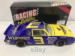 #3 Dale Earnhardt Wrangler 1984 Blue Goose Monte Carlo 1/24 Action