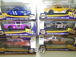 6 NIB Vtg NAPA Nascar 50th Anniversary 1/24 Action DieCast Cars Lot of 6