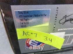#7 3.4 ACTION 28 Havoline Rookie Of The Year Davey Allison Thunderbird 1/24