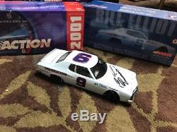 ACTION 1/24 Scale NASCAR BILL ELLIOTT #9 DAHLONEGA 1976 FORD TORINO Signed