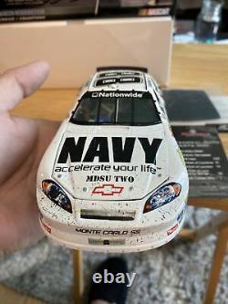 Action Brad Keselowski #88 Navy Nashville Raced Win 2008 Monte Carlo SS 124