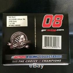Action NASCAR #18 Kyle Busch 2008 Sonoma CA Win 124 Die-cast 289/504