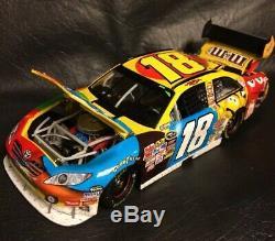 Action NASCAR #18 Kyle Busch M&Ms Las Vegas Win 124 Die-cast Raced Ver 107/298