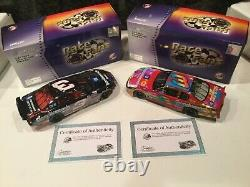 Action QVC RFO 1997 Dale Earnhardt #3 GM Goodwrench Crash Car 1/24 Peter Max