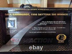 Action Racing RCCA Elite Dale Earnhardt 1998 Daytona 500 Race Win Diecast 124