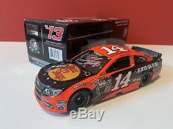 Autographed 2013 Tony Stewart #14 Ducks Unlimited NASCAR 1/24 Diecast Free Ship