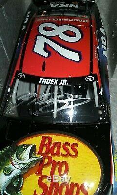 Autographed 2016 Martin Truex Jr Bass Pro NRA Toyota 124 Diecast
