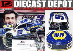 Autographed CHASE ELLIOTT 2018 NAPA CAMARO 1/24 SCALE ACTION NASCAR DIECAST