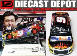 Autographed CHASE ELLIOTT 2018 SUN ENERGY 1/24 ACTION DIECAST COLLECTOR SERIES