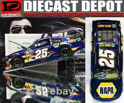 Autographed Chase Elliott 2015 Napa #25 First Cup 1/24 Action