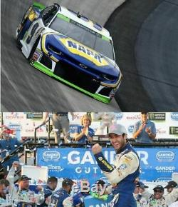 Autographed Chase Elliott 2018 Dover Win Raced Version Napa 1/24 Scale Action