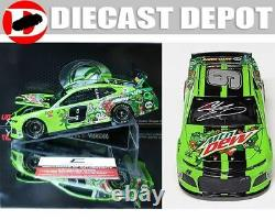 Autographed Chase Elliott 2019 Rcca Elite Dewnited States Mountain Dew 1/24