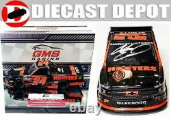 Autographed Chase Elliott 2020 Hooters Silverado Truck 1/24 Action
