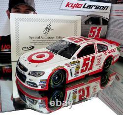 Autographed Kyle Larson 2013 Target 1/24 Action Autographed