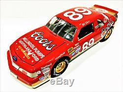 Bill Elliott ACTION #89 Coors Ford Thunderbird Custom Nascar Busch Diecast