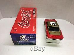Bobby Allison Autographed Nascar Diecast #12 1974 Coca Cola 1/24 Action Bwb Rare