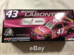 Bobby Labonte/richard Petty 2008 Dodge Cheerios/pink Sgk Autographed Diecast