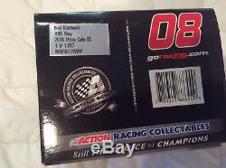 Brad Keselowski 2008 Chevy Navy Acc. Your Life Autographed Diecast/card/hat