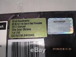 Brad Keselowski 2012 #2 Miller Lite Sprint Cup Champion Color Chrome Elite 1/24