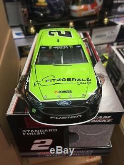 Brad Keselowski 2017 Fitzgerald 1/24 Scale Action Nascar Diecast