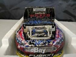 Brad Keselowski #2 124 Raced REDD'S Talladega Win 2014 Nascar Diecast Action